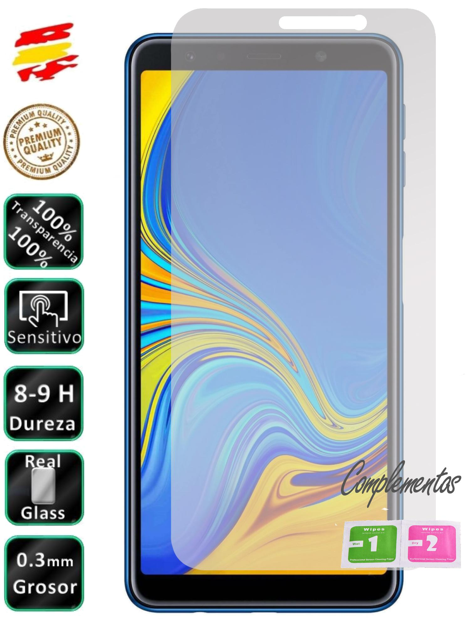 Protector For Galaxy A7 2018 Tempered Glass Screen Glass 9H For Mobile
