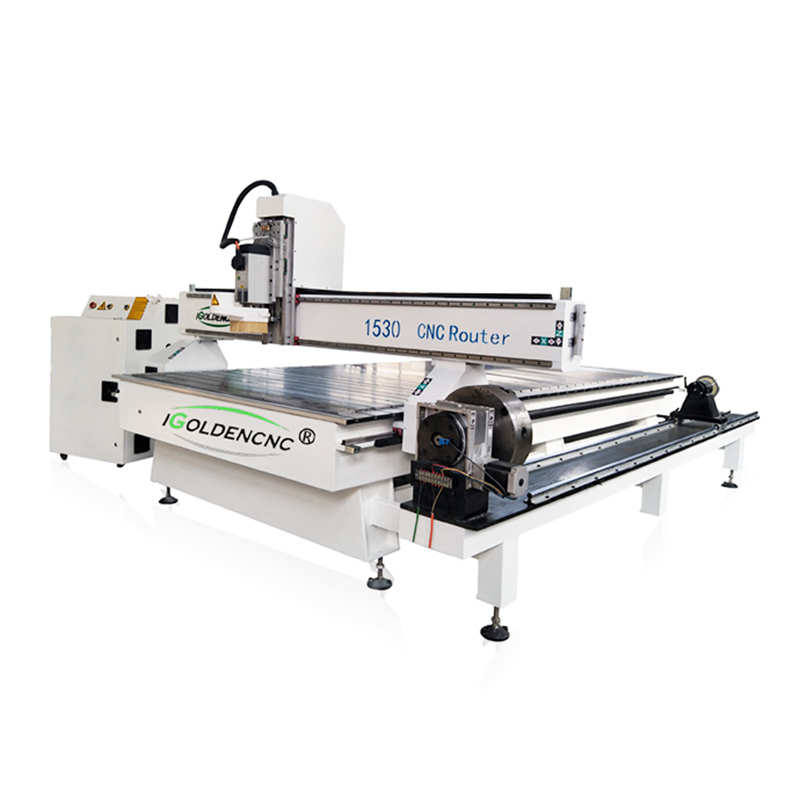 Latest Design Wooden 3 Axis 4 Axis Rotary 1325 Cnc Router Machine Price With CE Certification