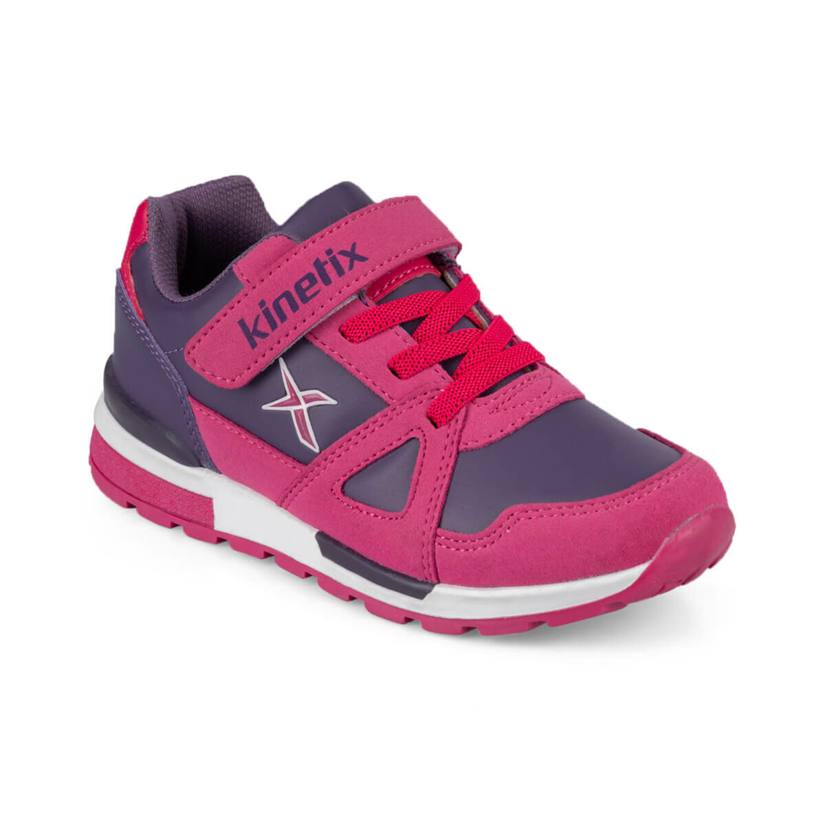 FLO RIVERO PU 9PR Purple Female Child Sneaker Shoes KINETIX