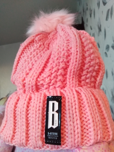 Girls Winter Knitted Beanies Hat Set photo review