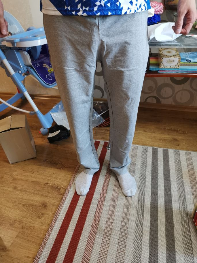 Men's Straight Breathable Pants photo review