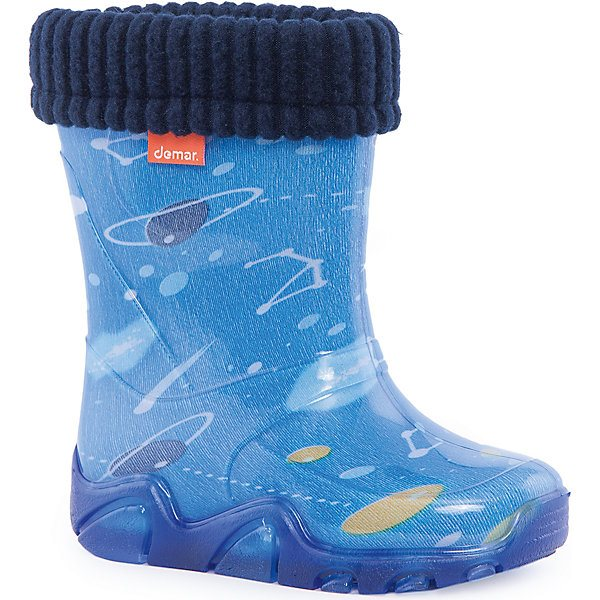 Rubber boots with removable toe Demar Stormer Lux Print \Space\ MTpromo поло print bar space tirex