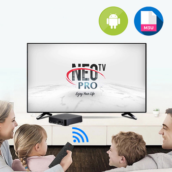 NEO-TV PRO 2 IP✔️TV✔️EUROPE stabilny✔️ M-3U pilot do telewizora kontroli tanie i dobre opinie NONE FR (pochodzenie)