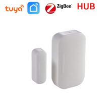 Tuya Smart Home ZigBee Door Window Sensor WiFi APP Notification Alerts Battery Operated Contact