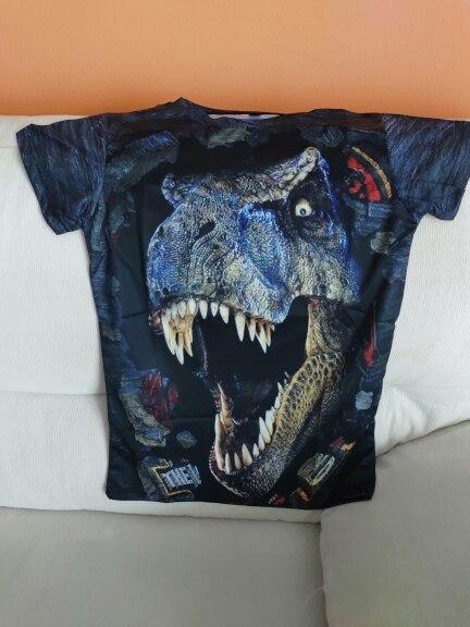 Halloween Costume Dinosaur t shirt For Boys Clothes Children T-shirt Animal Baby Boy t shirt Kids Short Sleeve Girls Clothing photo review
