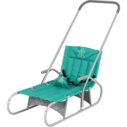 Folding sled Demi gray-green