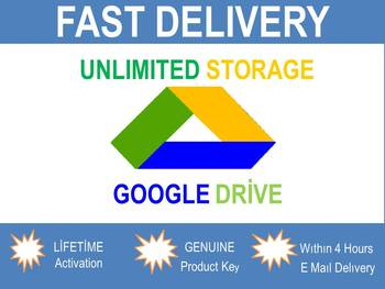 Google Drive Unlimited Storage Lifetime
