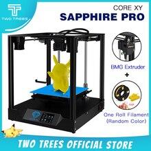 Twotrees 3D 프린터 코어 XY 사파이어 프로 프린터 BMG 압출기 Corexy 가이드 DIY MKS Robin Nano 3.5 인치 터치 스크린 TMC2208