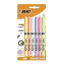 Bic Kalem Tipi Fosforlu Kalem Pastel Renk 6 lı