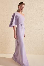 Trendyol батарея деталь вечернее платье и выпускного вечера TPRSS20AE0049