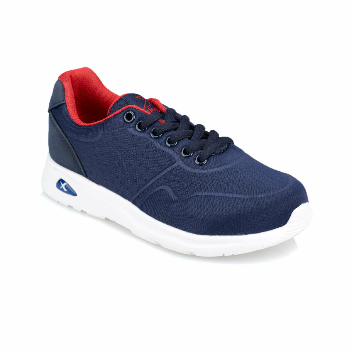 FLO MY Nose Navy Blue Male Child Running SHOES KINETIX