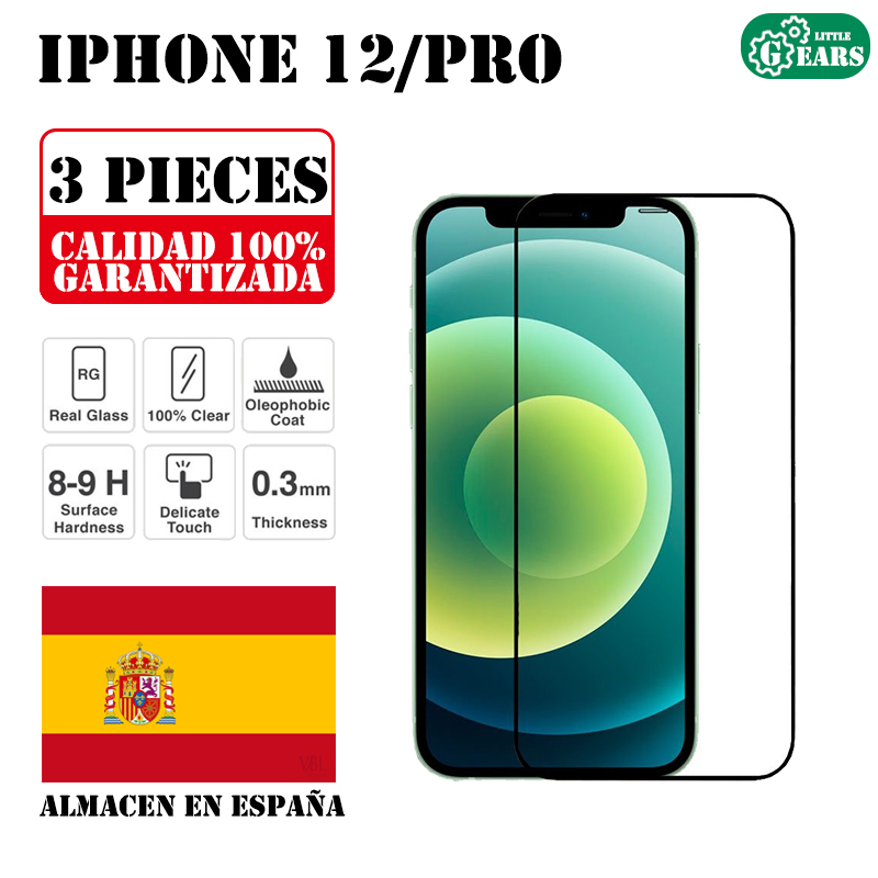 Ультратонкое закаленное стекло для IPhone 12 / 12 Pro, 6,1 дюйма, 3 шт.