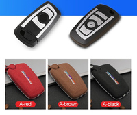 High Quality Car Leather Key Case Holder Cover For BMW1 3 5 7 series x3 x4 F30 F10 F20 F18 118i 320i M3 M4 M5 key bag