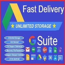 G-suite Google Drive stockage illimité✨Durée de vie✨Nouveau Compte E-mail✨Dans le monde entier Livraison Rapide