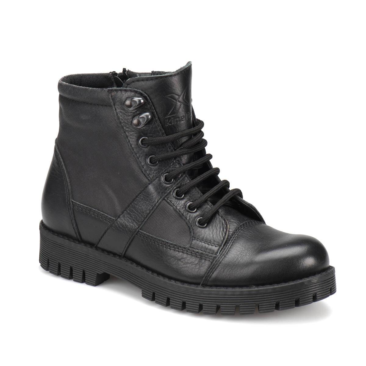 FLO ROMAN Black Men Boots KINETIX