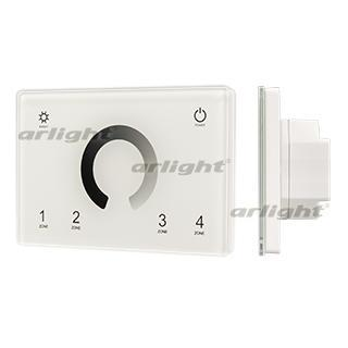 028398 panel sens smart-p79-dim White (230 V, 4 zones, 2.4g) Arlight 1-piece