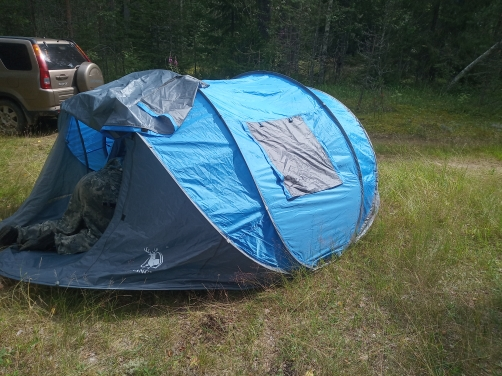Automatic Pop-Up Camping Tent photo review