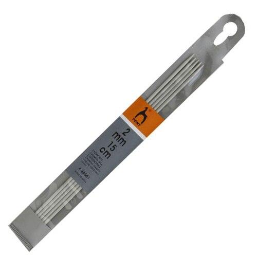 38501 Спицы носочные алюминий 2,0мм*15см PONY|Вязание|   | АлиЭкспресс
