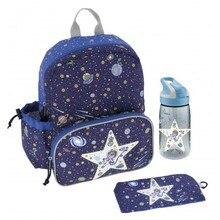 LAKEN Picnic Set Mochila Infantil kids water bottle 450 ml Tritan thermal snack bag backpack children College
