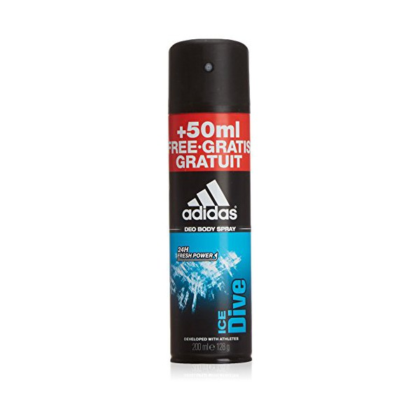 Spray Deodorant Ice Dive Adidas (200 Ml)