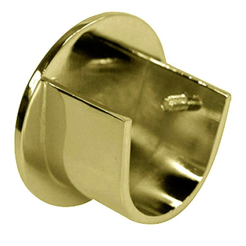 Support Zircon Side 28mm. Old Bronze (2 Pcs)