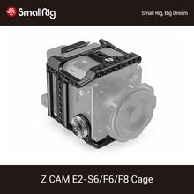 SmallRig kamera kafesi için Z CAM E2 S6/F6/F8 DSLR kafes ile NATO Rail/entegre ARRI rozet/HDMI ve USB C kablo kelepçesi kafes kiti 2423