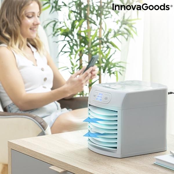 Innovagoods Mini Led Portable Evaporator Air Conditioner Freezyq+