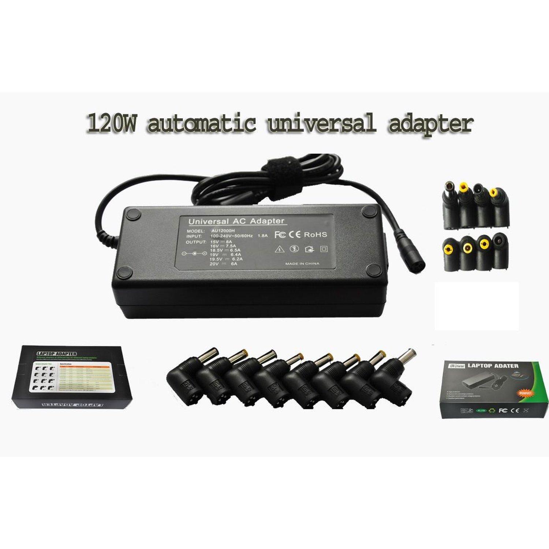 Универсальное зарядное устройство для ноутбука 60 Вт 120 Вт