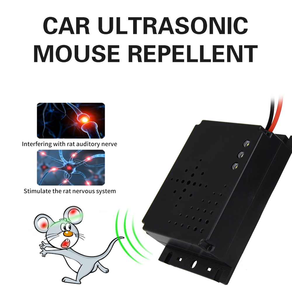Car Engine Compartment Cockroach Vehicle Animal Repeller Mouse Expeller Non-Toxic Effective Mosquito Keep Rodent Marten Away