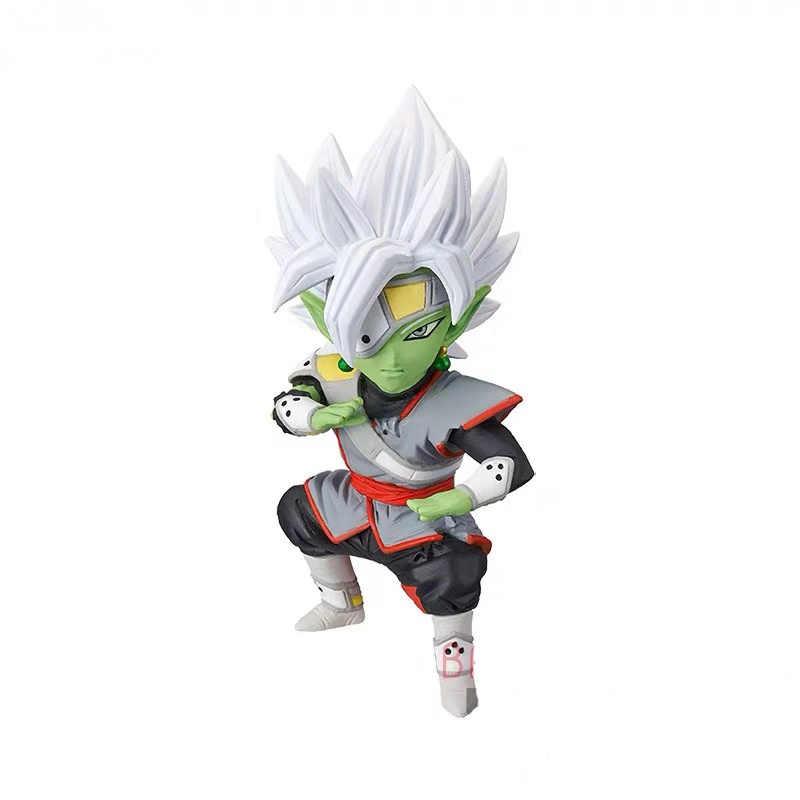 Original banpresto dragon ball super heróis figura colecionável do mundo vol.7 wcf cumber gogeta zamasu goku estatueta