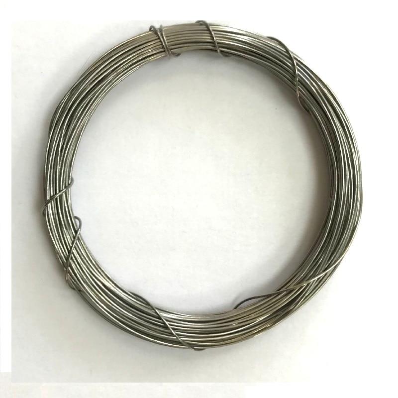 Проволока нихром, Nichrom wire, намотка по 10 метров|Аксессуары| | АлиЭкспресс