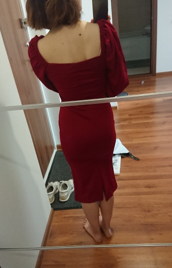 Nibber sexy pure V Neck off shoulder bodycon dress For women clubwear party night  Basic Elegant midi dresses Mujer 2021 Summer|Dresses|   - AliExpress