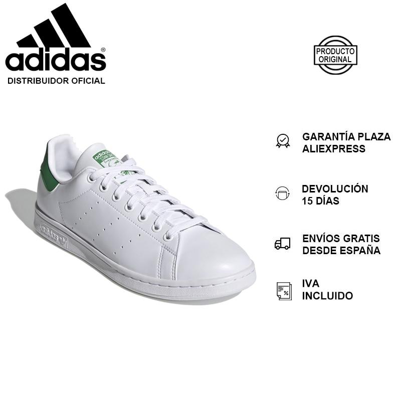 Adidas Stan Smith, Zapatillas Para Correr, Hombre, Cordones, Superior Sintética, Primegree, Forro Sintético – NUEVO ORIGINAL