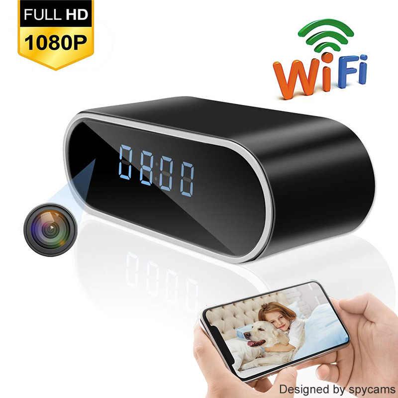 Reloj Nanny inalámbrico, 1080P, WIFI, Mini cámara P2P IP/AP, Sensor de movimiento de visión nocturna de seguridad, compatible con tarjeta TF oculta, Monitor remoto