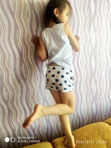 SheeCute Girl's Toddler & Kids 3 Pcs/lot Underwear Cotton Soft Panties Baby Panties Kids Briefs photo review