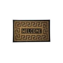 Doormat Coconut Fiber and Rubber Welcome 45×75 cm.