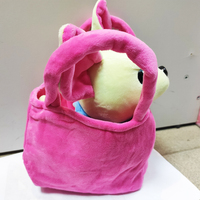 Stuffed toy dog dog purse chichi toy for girls fashion game love Chihuahua small cute music barks