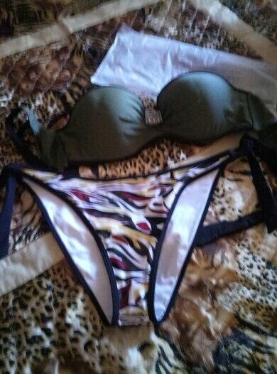 NAKIAEOI Push Up Swimwear Bikini Women Swimsuit Female Summer Sexy Bandeau Bikini 2019 Printed Halter Beach Bathing Suit Biquini|biquini up|biquini sexybiquini woman - AliExpress