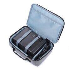 Evrensel projektör taşınabilir saklama çantası Oxford su geçirmez toz geçirmez Dropproof taşınabilir saklama kutusu projektör aksesuarları