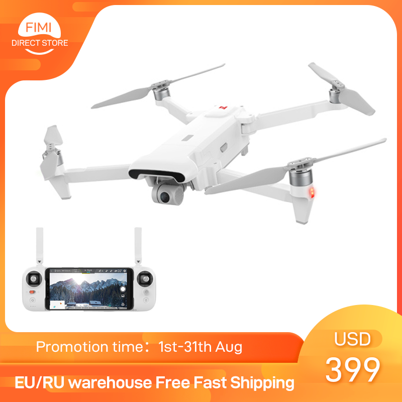 FIMI X8 SE 2020 Camera Drone Set with 64GB 128GB TF card 8km new version x8se Drone 35mins FPV 3-axis Gimbal 4K Camera HDR Video
