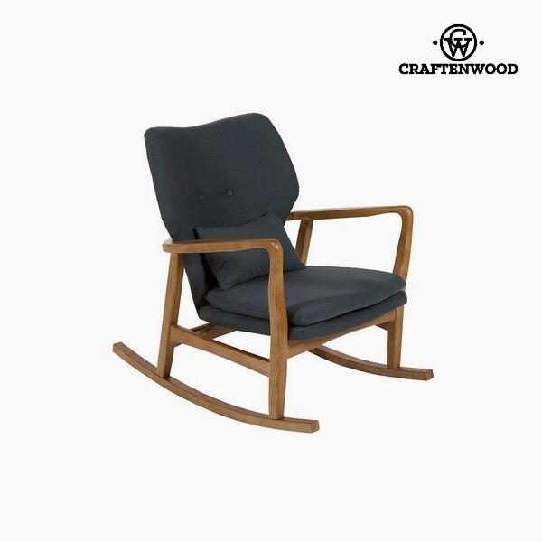 Rocking Chair Elm Wood (88 X 53 X 54 Cm) By Craftenwood