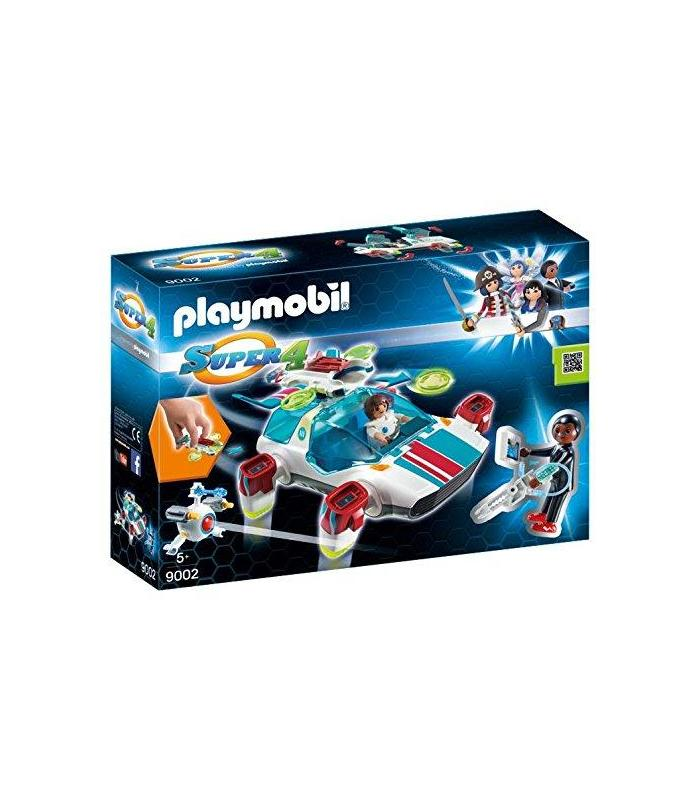 Playmobil 9002 Fulgurix With Agent Gene Toy Store