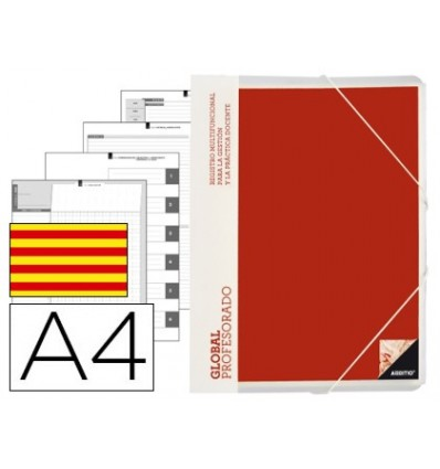 WALLET GLOBAL ADDITIO A4 WITH EVALUATION CONTINUOUS PROGRAMMING TUTORIA And MEETINGS IN CATALAN