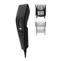 Philips cortadora de pelos cabello hombre Cortapelos  con cable (NO recargable)HC3510 Acero Inoxidable Incluid peine para barba