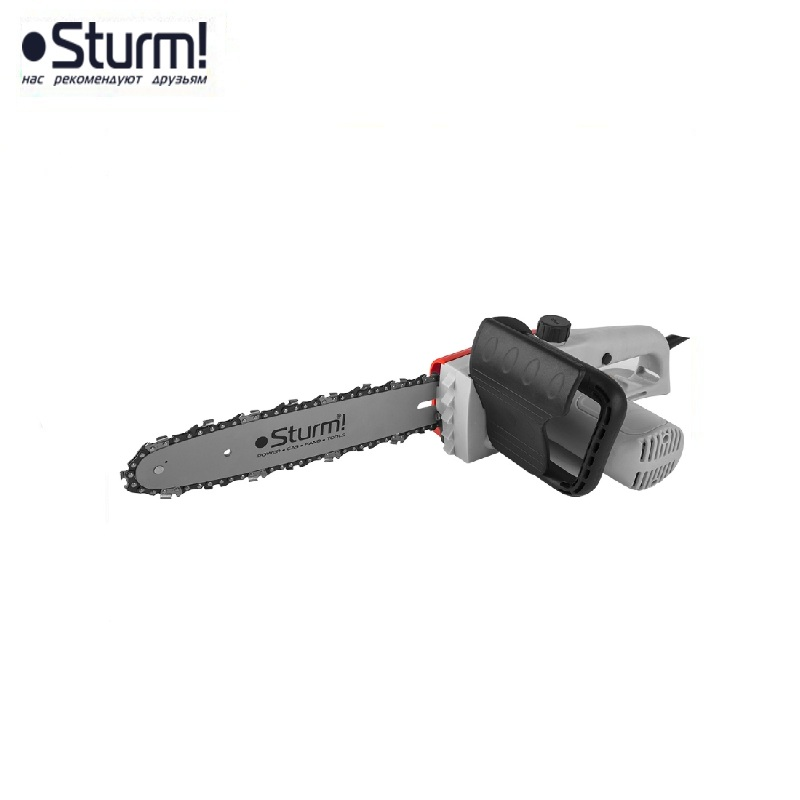 CC9916 Saw ELECTRIC CHAIN STURM, OIL FREE! 1600 W, 12 '' (305 mm) bar, 3/8 chain pitch Flat-blade chainsaw Link tooth saw of 1pc original chain with pitch 3 8 063 guague 84 links for ms 380 381 chainsaw aftermarket repair