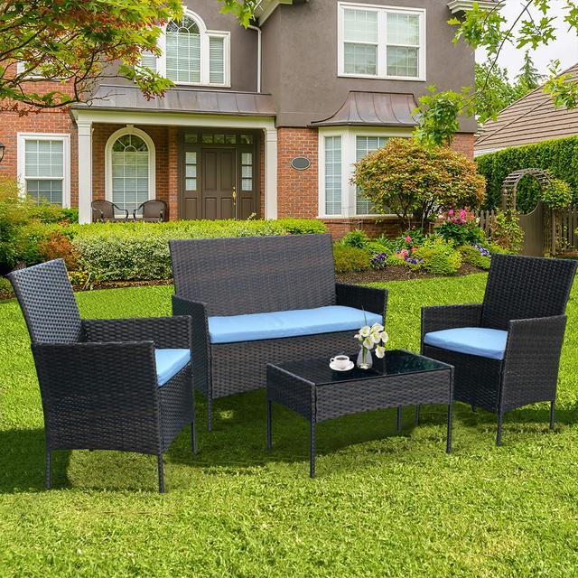 4 Pieces Patio Furniture Set 3