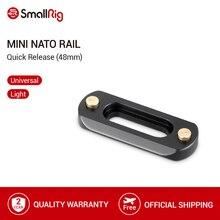 SmallRig Mini ( 6mm cienka) kamera Quick Release NATO Rail (48mm) do montażu zacisków NATO 2172