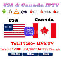 IPTV Smarters PRO USA IPTV Canada IPTV Subscription Free Watch 6/12 Months IPTV Europe Android TV box Smart TV M3U8 VLC