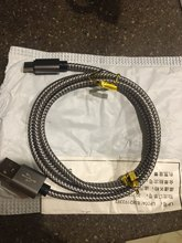 The track was tracked, reached Moscow in 2 weeks, sent quickly, the store is reliable, I recommend. Cable works.