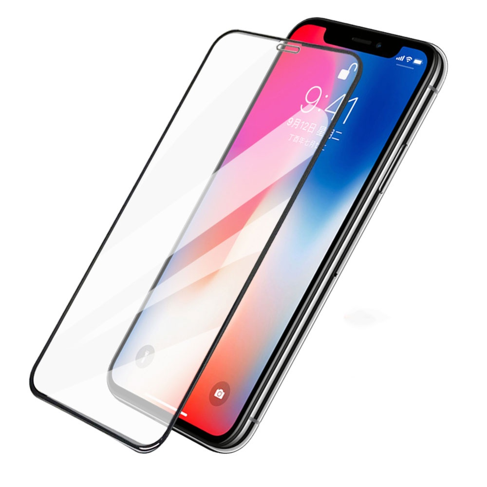 Protective 10D Glass For IPhone 11 Black Unicorn,full Cover, Screen Protector, Tempered Glass For IPhone 11.
